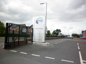 Belfast Met - Entrance - Devlin Mechanical